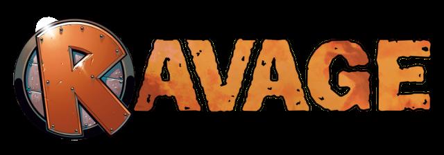 Ravage Magazine logo
